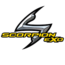 scorpion logo caschi